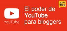 El poder de Youtube para bloggers. A través de esta publicación, haremos un recorrido por las características más importantes de Youtube con el fin de que pueda valorar incorporarlo como una extensión natural para tu blog.  Salidos #YouTube #Bloggers #SocialMediaMarketing