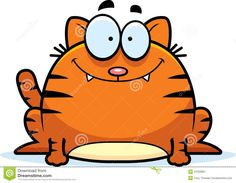 Smiling Little Cat Stock Vector - Image: 47023857