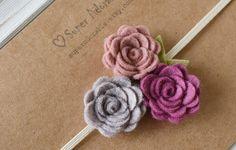 Hey, I found this really awesome Etsy listing at https://www.etsy.com/listing/265875546/wool-felt-flower-headband-trio-flowers