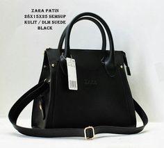 Black Zara Bag Actris Fatin X-Factor - www.Grosiranmu.com