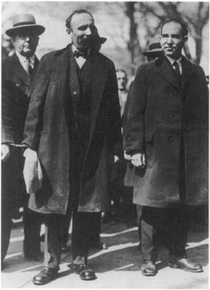 Sacco and Vanzetti were two immigrants from Italy, they were both accused of murder and were in the Massachusetts trial