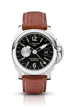 LUMINOR GMT AUTOMATIC ACCIAIO PAM00088 - Collection LUMINOR - Watches Officine Panerai