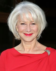 Helen Mirren...love this cut and color