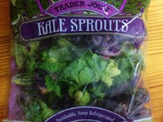 Thanx @TraderJoesList for #kalesprouts! A hybrid of #kale & #brusselsprouts #vegetarian #vegan #healthyliving