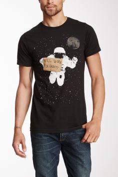 Will Work for Gravity Tee