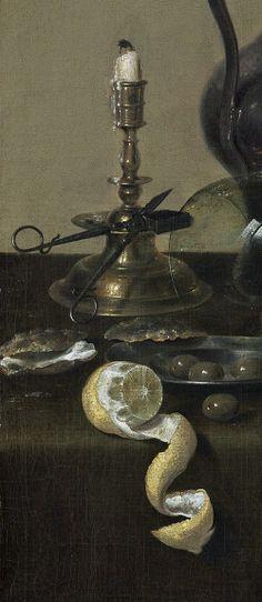 Willem Claeszoon Heda, Banquet Piece with Mince Pie, (1635)