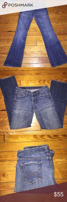 Selling this Denim washed jeans on Poshmark! My username is: mari012801. #shopmycloset #poshmark #fashion #shopping #style #forsale #Citizens of Humanity #Denim