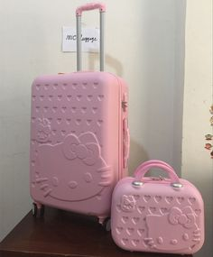 ... luggage sets, Buy Quality luggage sets directly from China rolling  trolley Suppliers  MIC Pink Hello Kitty Luggage Set,Children Women KT  Suitcase,ABS ... c727ec27df