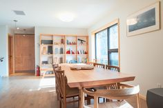 Maison écologique ERE 132 - Houses for Rent in Price, Québec, Canada Location, Perfect Place, Dining Bench, Condo, Room, Furniture, Design, Home Decor, Gardens
