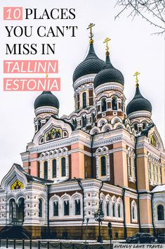 Best things to do in Tallinn Estonia! If you are planning on traveling to Europe you need to check out Tallinn. It is one of the most beautiful cities in Europe - a real life fairy tale! Check out the top 10 things to do in Tallinn on European Destination, European Travel, Europe Travel Tips, Places To Travel, Travel Advice, Baltic Sea Cruise, Scandinavian Cruises, Real Life Fairies, Estonia Travel