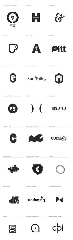 2011 logo Marks by Erwin Hines, via Behance