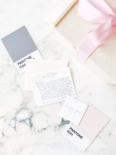 Romantic, modern + minimal visual branding for Gumption + Gleam Gifting Studio by b is for bonnie design