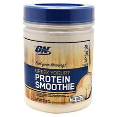 Optimum Nutrition Greek Yogurt Protein Smoothie Vanilla - Gluten Free