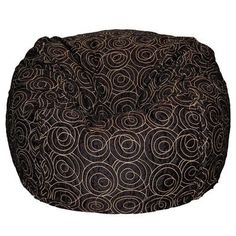 Ahh! Products Bean Bag Chair Upholstery: Black