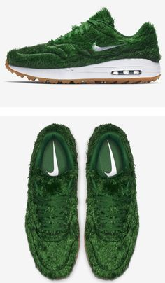 Nike Unveils The Air Max 1 Golf Shoe With Green Grass Uppers ⛳ fe18335a18c