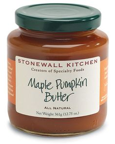 Maple pumpkin butter? You don't have to ask us twice! Get it here: http://www.bhg.com/shop/stonewall-kitchen-maple-pumpkin-butter-p507fefaf82a7862e65d45d48.html