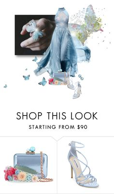 """""""Blue Butterfly"""" by loveroses123 ❤ liked on Polyvore featuring GET LOST, Sophia Webster and Steve Madden"""