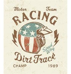 Dirt track racing vector 2621645 - by ZiaMary on VectorStock®