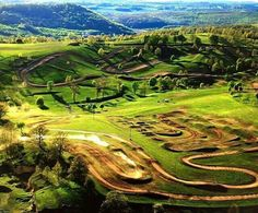 Tag your buddies that you'd like to ride with at this track! Dirt Bike Track, Rc Track, Bmx, Motocross Tracks, Motorcross Bike, House In The Clouds, Dirt Bike Quotes, Outdoor Fun For Kids, Triumph Street Triple