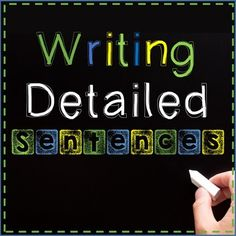 Teach your students to add adjectives, adverbs, better verbs, and more to their writing with this highly interactive PowerPoint on writing detailed sentences.Mac-friendly version included! (Powerpoint still required)Overview of PowerPoint:Begins by comparing a boring sentence with a detailed sentence to show students the importance of adding details.Introduces 5 ways to add details to sentences, each with interactive portions (the students get to click which adjectives, etc, to add to the…