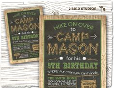 19 best camping invitations images on pinterest themed parties camping invitation camping party invitation camping birthday party diy printable invitation chalkboard campout sleepover invitation filmwisefo