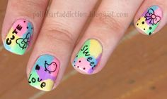 Cute & Sweet. Pastel....