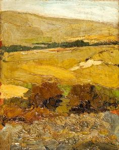 Nikolaos Lytras (Greek, Landscape 54 x cm. Summer Landscape, Landscape Art, Landscape Paintings, Landscapes, Greek Paintings, Russian Landscape, 10 Picture, Greek Art, Impressionist Art