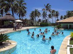 Piscina do resort Sauípe Fun, Bahia, Brasil