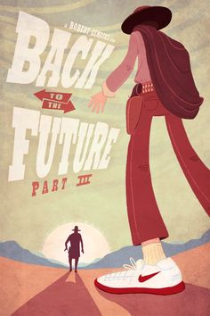 Back to the Future III [ Movie ] - who made this poster? I love it!