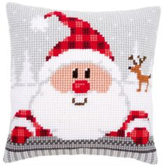 santa claus cross stitch patterns - Pesquisa Google
