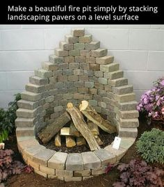 Make a Fire Pit Easily