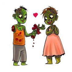 Zombie love #zombie #love #art