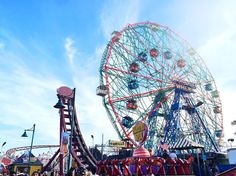 Coney Island, NYC, Brooklyn, New York City, Summertime, Attractions