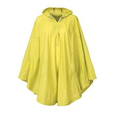 Waterproof Poncho Yellow, $95, now featured on Fab.