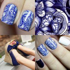 """315 Likes, 10 Comments - Танюшка, ко мне на """"ты""""😉 (@maravilla_88) on Instagram: """"И коллаж пусть будет)) Дизайн с использованием пленки для дизайна ногтей @tattoonails.ru art.1047 С…"""""""