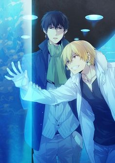 Kotomine Kirei & Gilgamesh   Fate/Zero I like to believe this is the kind of stuff they did for the 10 years