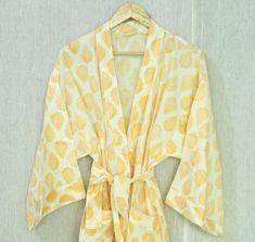 Satin Kimono, Cotton Kimono, Cotton Fabric, Floral Kimono, Festival Outfits, Festival Clothing, Kimono Design, Resort Dresses, Maxi Gowns