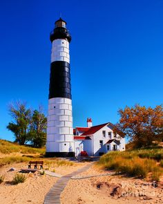 1000 images about great lakes lighthouses on pinterest lake michigan lighthouses and michigan. Black Bedroom Furniture Sets. Home Design Ideas