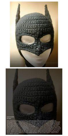 Batman hat crochet all sizes hat crochet batman and crochet batman hat wface mask pattern bibi dt1010fo