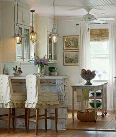 Ceiling. Bar & stools. Lighting.
