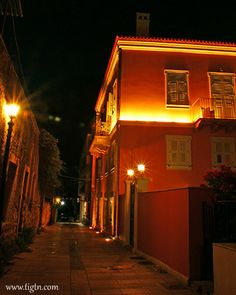 Ippoliti Hotel, on the corner of Aristidou & Ilia Maniati streets in the old town of - Neoclassical, Old Town, Bridges, Roads, Greece, Old Things, Hotels, Corner, Traditional