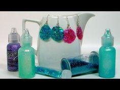 Got Glue? Got Glitter? Let's Make Earrings!   Thefrugalcrafter's Weblog