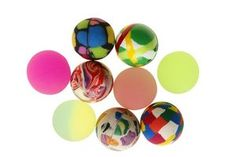 Bouncy balls bounce higher than you might expect.