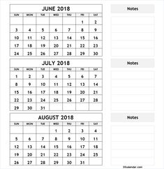 111 Best 2018 Calendar Images 2018 Calendar Template Calender