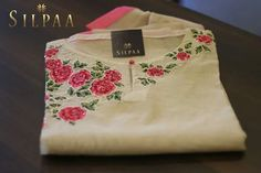 Call or whatsapp on to buy/order this Salwar Designs, Blouse Designs, Kamiz Design, Hand Embroidery Dress, Kurta Neck Design, Neck Designs For Suits, Indian Attire, Neck Pattern, Indian Designer Wear