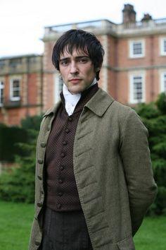 Blake Ritson as Edmund Bertram in Mansfield Park (2007). - Regency