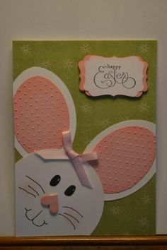 Save Your Money Thanks To Easter Cards Handmade - kids cards Easter Projects, Easter Crafts For Kids, Baby Cards, Kids Cards, Easter Art, Homemade Cards, Stampin Up Cards, Holiday Cards, Cardmaking