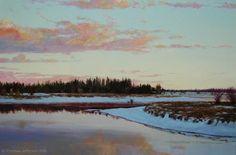 """Icy Twilight"", Sunriver, Oregon"