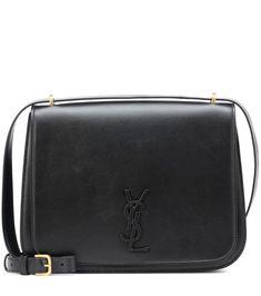 88b9ab64960 Medium Spontini Leather Shoulder Bag   Saint Laurent - mytheresa.com