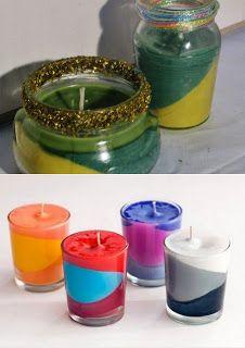 Pomysły plastyczne dla każdego DiY - Joanna Wajdenfeld: Pijane świece